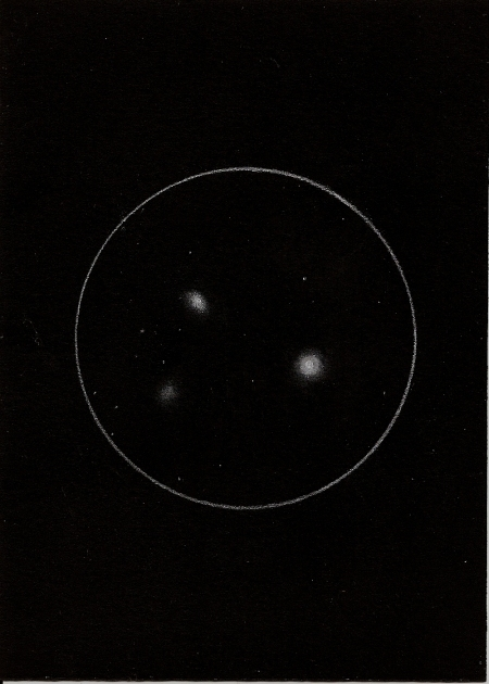 M105, NGC 3384, NGC 3389