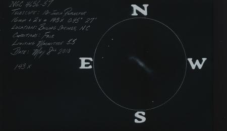 NGC 4656-57 10-inch 143x