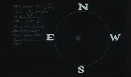 NGC 6543 10-Inch @ 190x
