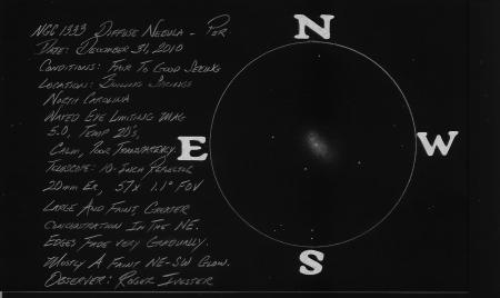 NGC 1333 10-inch reflector @ 57x