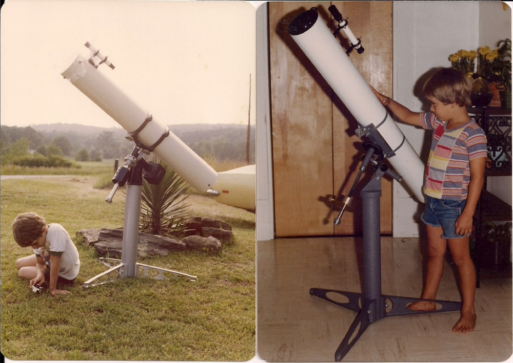 My First Telescope And Other Important Life Events (2/6)