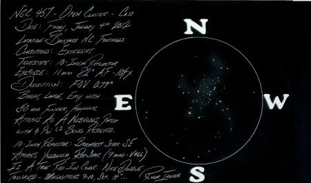 NGC 457 - The E