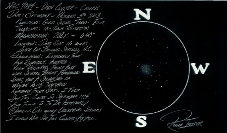 NGC 7044 OC Cygnus