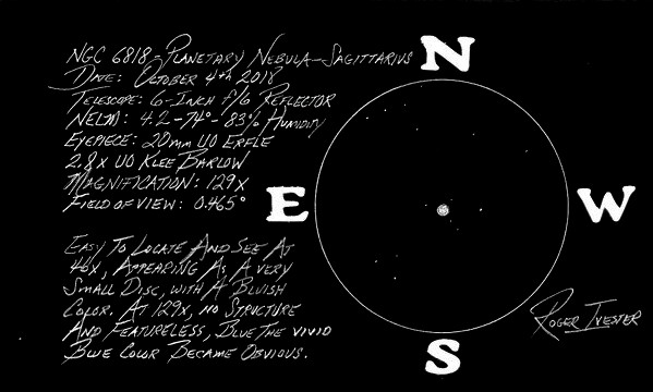 Rogers NGC-6818 Inverted