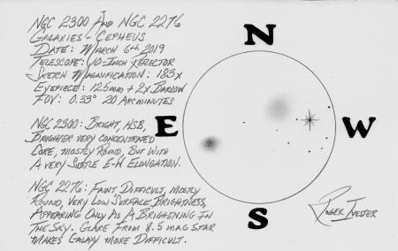 NGC 2300 and 2276